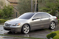 acura rl review 2005