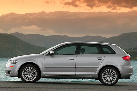 The  2008 Audi A3