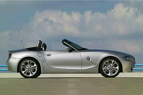 Bmw Z4 Coupe. 2008 BMW Z4 Roadster