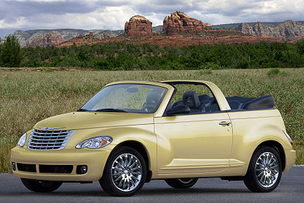 2007 Chrysler PT Cruiser Compact Convertible Coupe