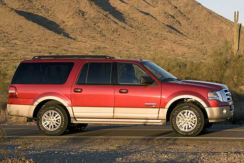 2007 Ford Expedition EL Eddie Bauer Edition Full-Size Sport Utility Vehicle