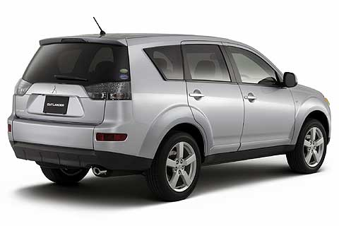 2007 Mitsubishi Outlander XLS 4WD Sport Utility Vehicle