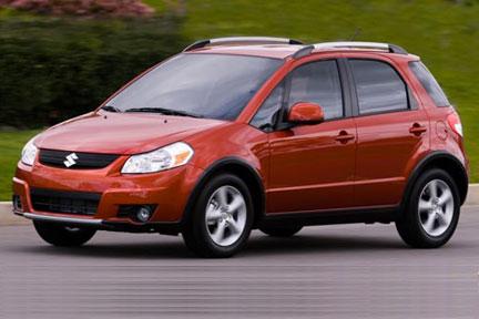 Suzuki Sx4 Sedan. 2007 Suzuki SX4 All Wheel