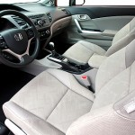 2012 Honda Civic SI Compact Coupe rear view