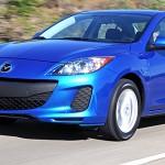 2012 Mazda 3 compact sedan and hatchback