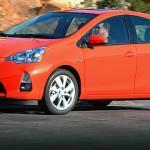 2012 Prius c subcompact hatcback