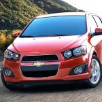2013 Chevrolet Sonic Subcompact sedan