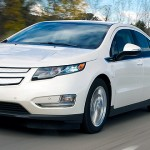 2013 Chevrolet Volt hybrid electric sedan