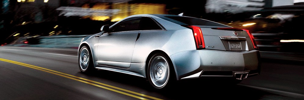 Cadillac CTS Coupe Luxury Mid-Size