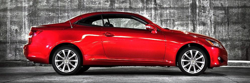 Lexus IS 350C Luxury Compact Convertible