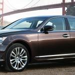 2013 Lexus LS460h full size luxury hybrid sedan