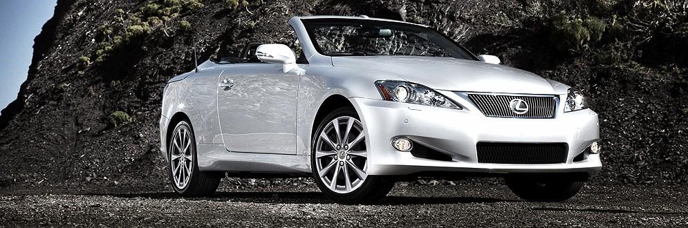 Lexus IS 250C Luxury Compact Convertible