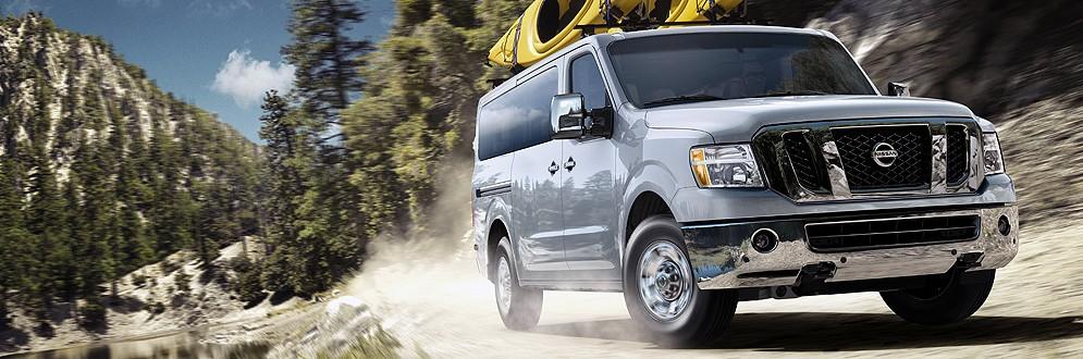 Nissan NVP Full-Size Passenger Van