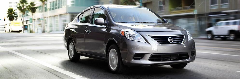 Nissan Versa Sub-Compact Sedan