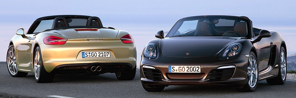 Porsche Boxster Luxury Sports Car