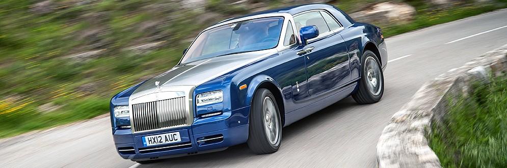 Rolls-Royce Phantom Coupe Luxury Full-Size