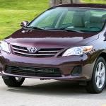 2013 Toyota Corolla compact sedan