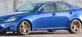 Lexus IS F Luxury Compact High Performance Sedan