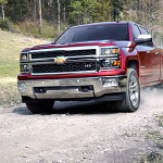 2014 Chevy Silverado full-size pick up truck
