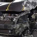 2012 IIHS Offset Crash Test Toyota Camry