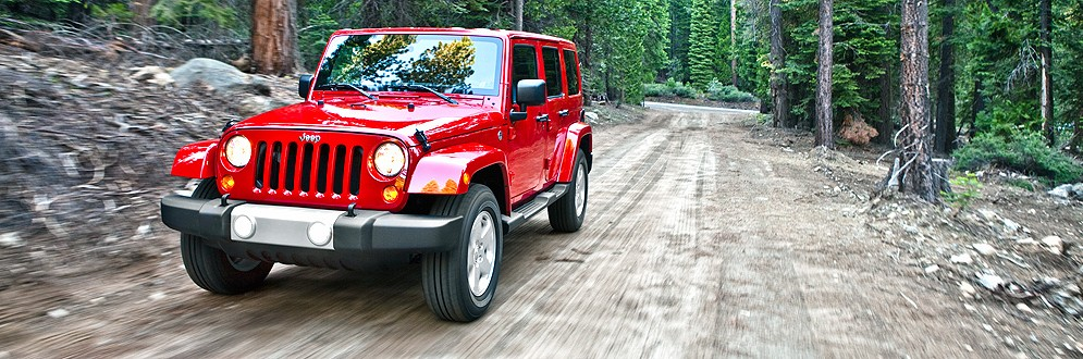 Jeep Wrangler Unlimited Mid-Size SUV