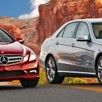 2010 Mercedes-Benz E Class Coupe and Sedan