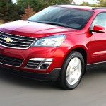 2013 Chevrolet Traverse mid-size SUV