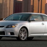 2013 Scion TC front view