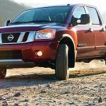 2013 Nissan Titan full-size pickup truck