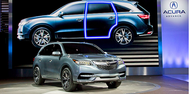 2014 Acura MDX Unveiled in New York