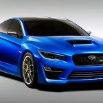 Subaru WRX Concept at the 2013 New York International Auto Show