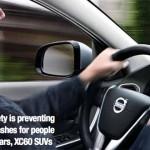 Volvo city safety crash avoidance system